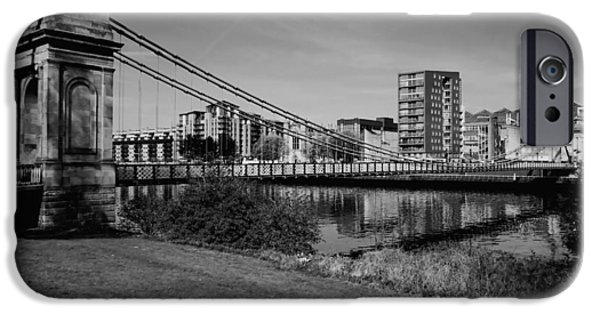 IPhone 6 Case featuring the photograph Glasgow by Jeremy Lavender Photography