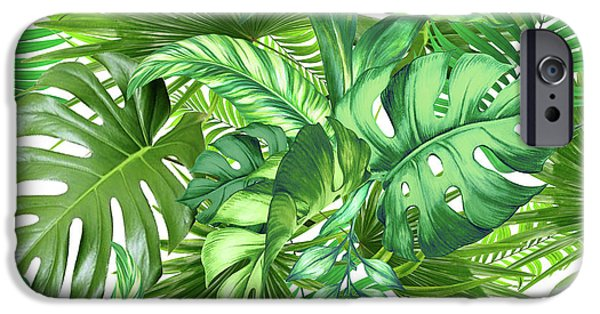 Dissing iPhone 6 Case - Green Tropic  by Mark Ashkenazi