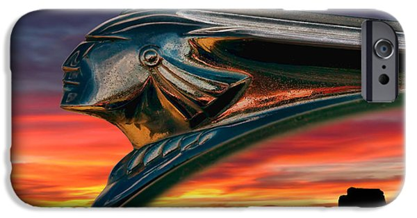 Ornament iPhone Cases - Indian Rainbow iPhone Case by Douglas Pittman