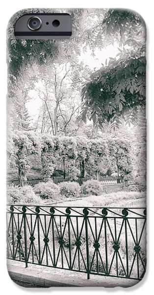 Ironwork iPhone 6 Case - Italianate Garden Terrace by Jessica Jenney
