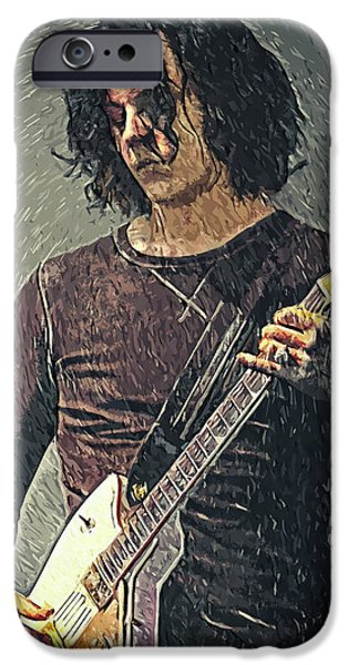 Folk Art iPhone 6 Case - Jack White by Zapista