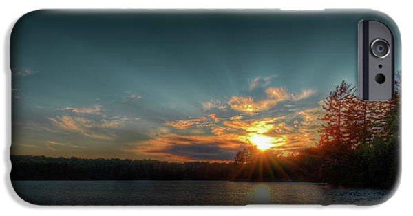 June Sunset On Nicks Lake IPhone 6 Case by David Patterson