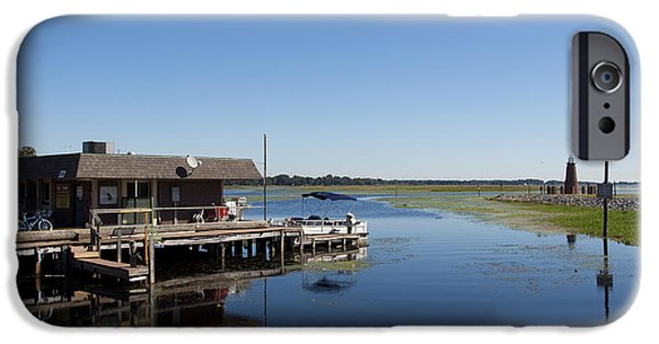 Recently Sold -  - Alga iPhone Cases - Lake Toho at Kissimmee in Florida iPhone Case by Allan  Hughes