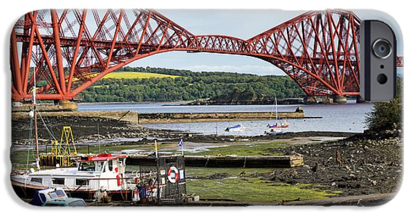 IPhone 6 Case featuring the photograph North Queensferry by Jeremy Lavender Photography