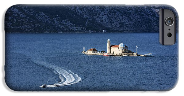 Jet Ski iPhone 6 Case - Our Lady Of The Rocks Church by John Greim