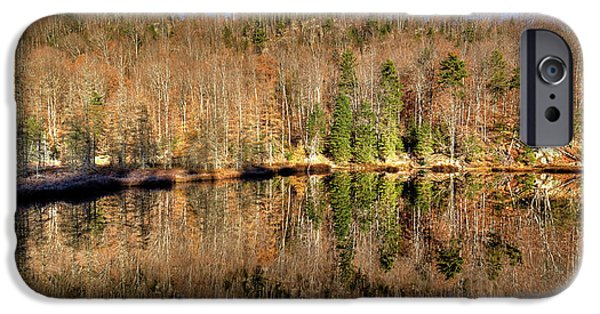 IPhone 6 Case featuring the photograph Pond Reflections by David Patterson