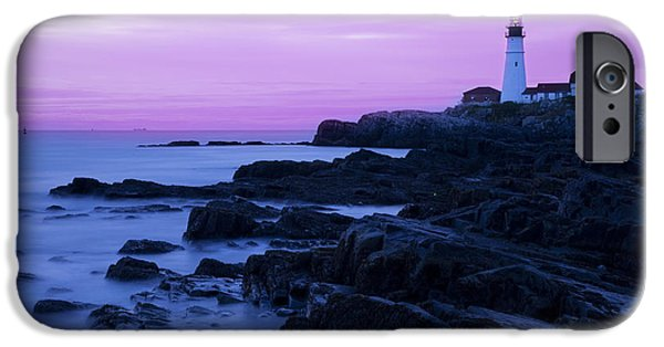 Recently Sold -  - New England Lighthouse iPhone Cases - Portland Head Lighthouse iPhone Case by Brian Jannsen