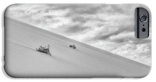 IPhone 6 Case featuring the photograph Sand And Clouds by Hitendra SINKAR