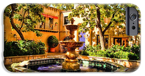 Sedona iPhone Cases - Sedona Tlaquepaque Shopping Center iPhone Case by Jon Berghoff