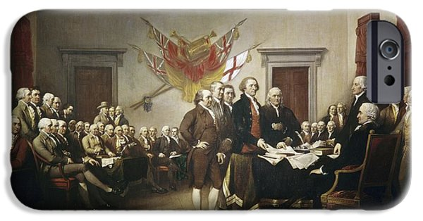 Signing The Declaration Of Independence IPhone 6 Case