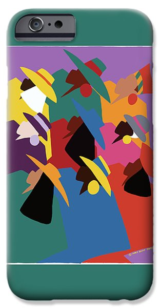 iPhone 6 Case - Sisters Of Courage by Synthia SAINT JAMES