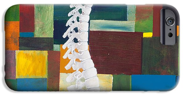 Figurative iPhone 6 Case - Spine by Sara Young