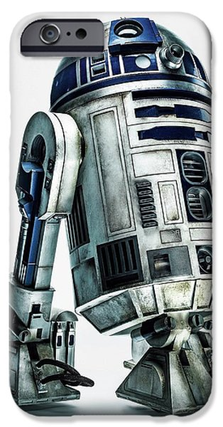 Yoda iPhone 6 Case - Star Wars Episode Vii - The Force Awakens 2015 by Geek N Rock