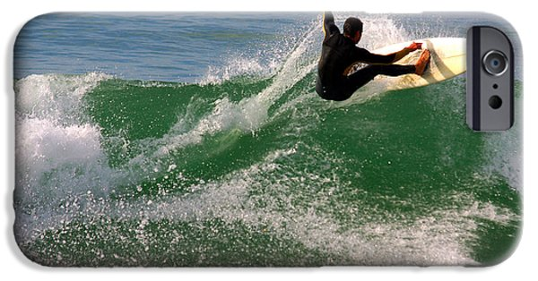 Lips iPhone Cases - Surfer iPhone Case by Carlos Caetano