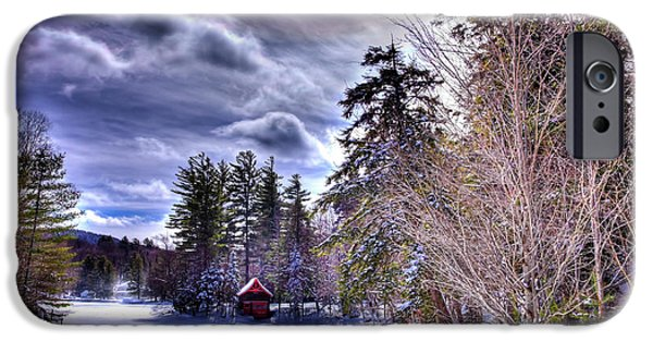 IPhone 6 Case featuring the photograph The Beaver Brook Boathouse by David Patterson