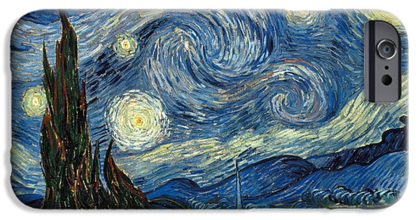 Star iPhone 6 Case - Van Gogh Starry Night by Granger