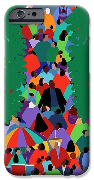 iPhone 6 Case - We The People Two by Synthia SAINT JAMES