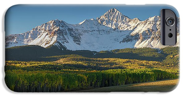 IPhone 6 Case featuring the photograph Wilson Peak Panorama by Aaron Spong
