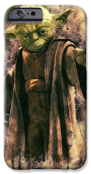 Yoda iPhone 6 Case - Yoda by Zapista Zapista