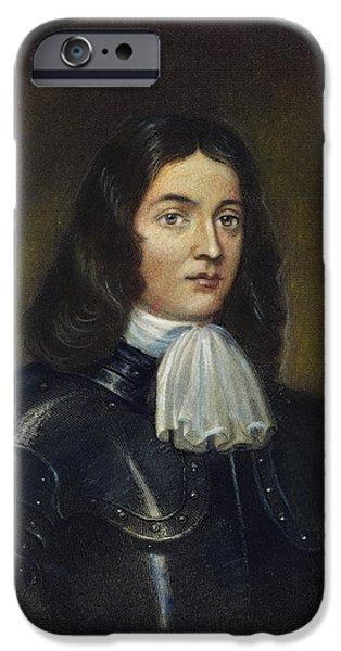 Quaker iPhone Cases - William Penn (1644-1718) iPhone Case by Granger