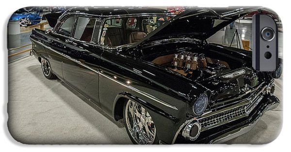IPhone 6 Case featuring the photograph 1955 Ford Customline by Randy Scherkenbach