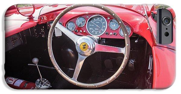 IPhone 6 Case featuring the photograph 1956 Ferrari 290mm - 4 by Randy Scherkenbach