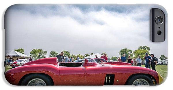 IPhone 6 Case featuring the photograph 1956 Ferrari 290mm by Randy Scherkenbach
