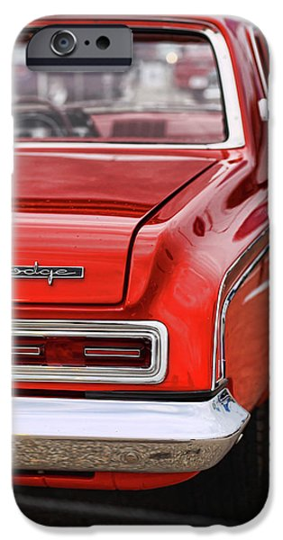 Fury iPhone Cases - 1963 Dodge 426 Ramcharger Max Wedge iPhone Case by Gordon Dean II