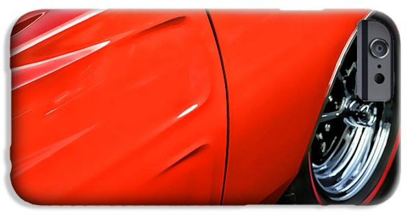 1969 Dodge Charger Stock Car iPhone Cases - 1969 Dodge Charger RT iPhone Case by Gordon Dean II