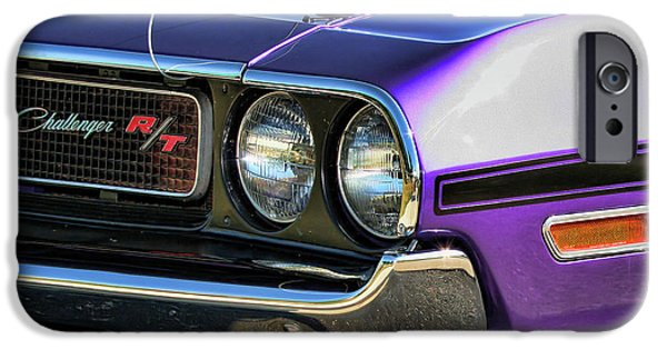 440 iPhone Cases - 1970 Dodge Challenger RT 440 Magnum iPhone Case by Gordon Dean II