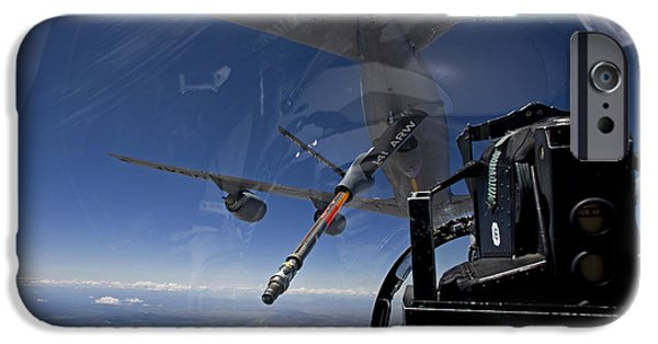 Mechanism iPhone Cases - An F-15 Eagle Pulls Into Position iPhone Case by HIGH-G Productions