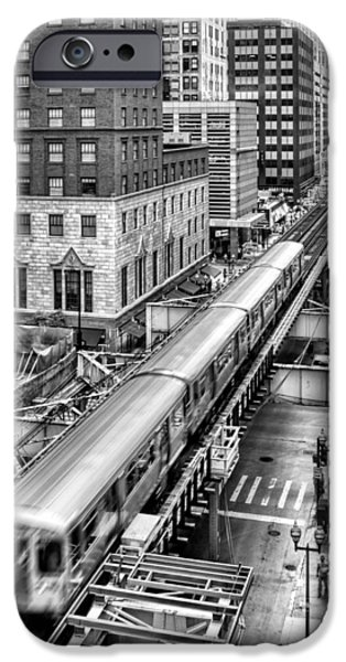Historic Chicago El Train Black And White IPhone 6 Case