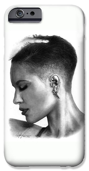 Halsey Drawing By Sofia Furniel IPhone 6 Case
