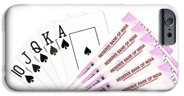 Draw Poker Iphone 6 Cases Fine Art America