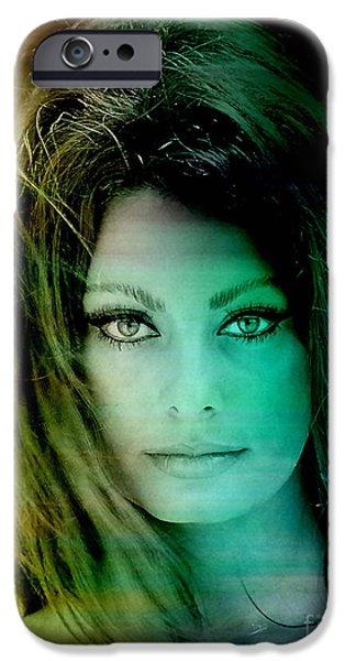 Sophia Loren IPhone 6 Case by Marvin Blaine