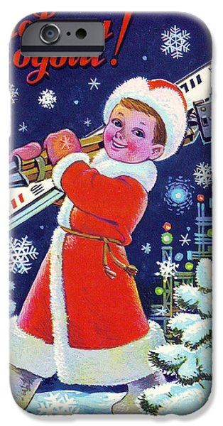 happy new year cards iphone 6 case soviet new year vintage postcard by long shot