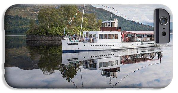 Steamship Sir Walter Scott On Loch Katrine IPhone 6 Case