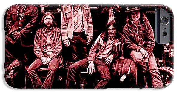 The Allman Brothers Collection IPhone 6 Case by Marvin Blaine