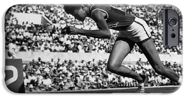 Ambition Photographs iPhone Cases - Wilma Rudolph (1940-1994) iPhone Case by Granger