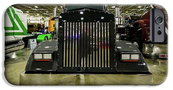 IPhone 6 Case featuring the photograph 2000 Kenworth W900 by Randy Scherkenbach
