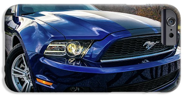 IPhone 6 Case featuring the photograph 2014 Ford Mustang by Randy Scherkenbach