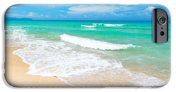 Water Ocean iPhone 6 Case - Beach by MotHaiBaPhoto Prints