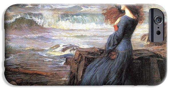 20th iPhone 6 Case - Miranda - The Tempest by John William Waterhouse