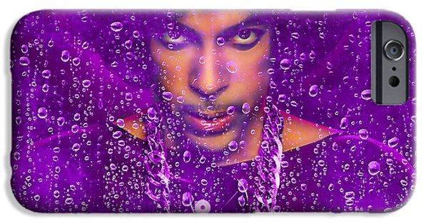 Prince Purple Rain Tribute IPhone 6 Case by Marvin Blaine