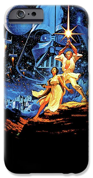 Yoda iPhone 6 Case - Star Wars Episode Iv - A New Hope 1977 by Geek N Rock