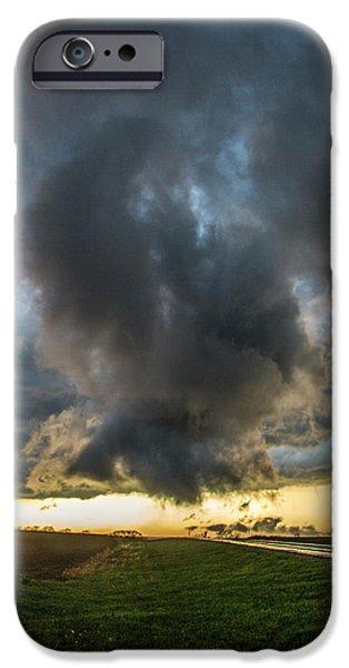 Nebraskasc iPhone 6 Case - 3rd Storm Chase Of 2018 050 by NebraskaSC