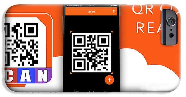 Qr Code iPhone 6 Cases | Fine Art America