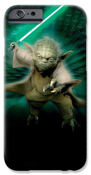 Yoda iPhone 6 Case - Star Wars Episode IIi - Revenge Of The Sith 2005 by Geek N Rock