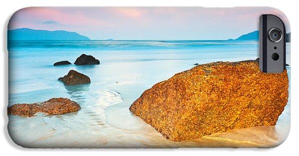 Water Ocean iPhone 6 Case - Sunrise by MotHaiBaPhoto Prints