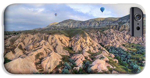 Hot Air Balloon iPhone Cases - Cappadocia - Turkey iPhone Case by Joana Kruse